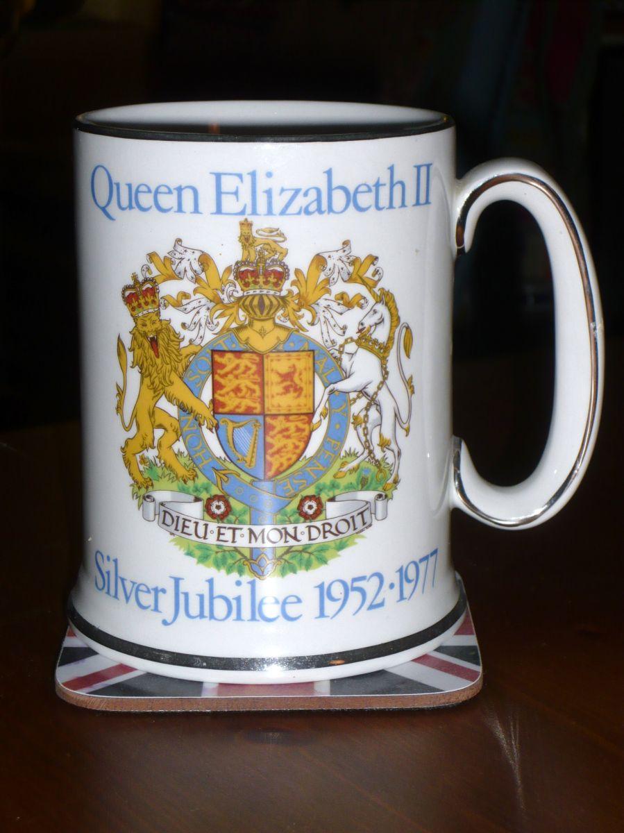 Silver Jubilee Tea Cup