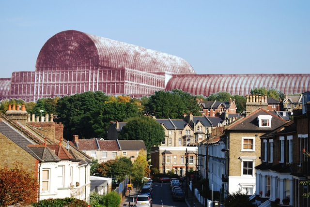 Crystal Palace photo montage
