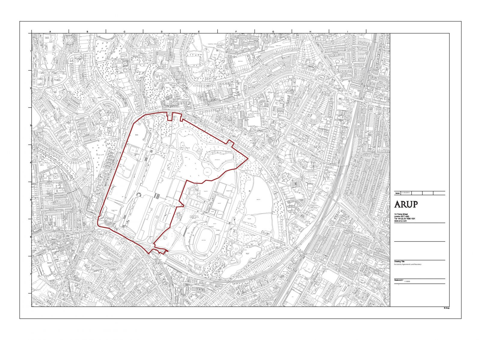 Exclusivity Agreement Area Plan