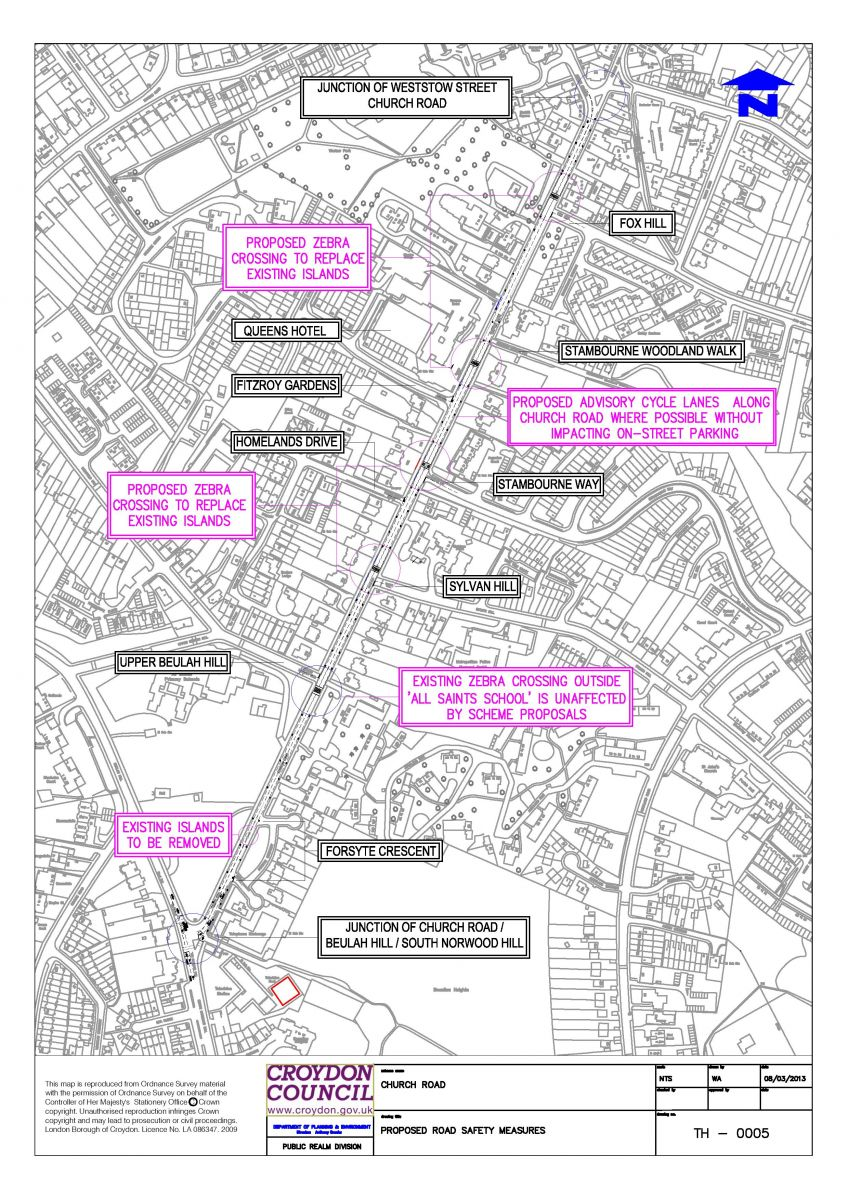 Church Road Proposed Safety Scheme