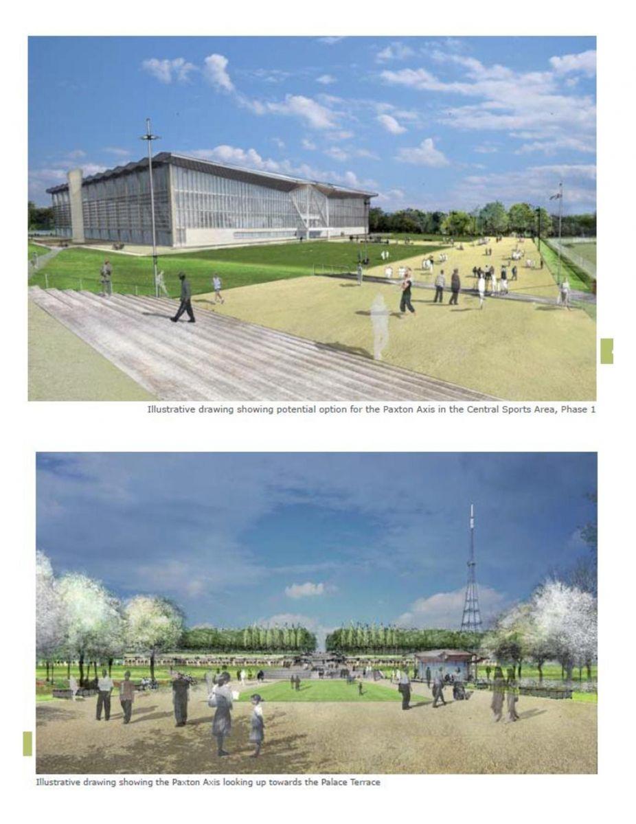 Masterplan Park Axis