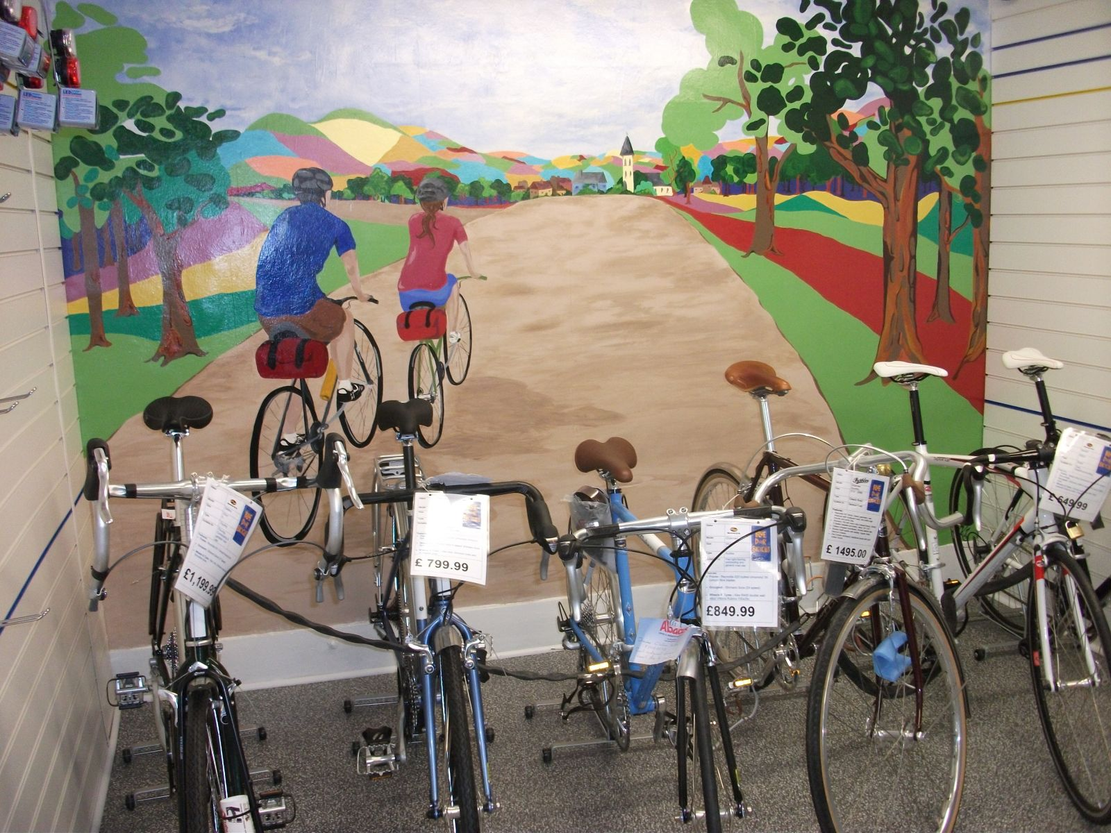 Mural And bikes