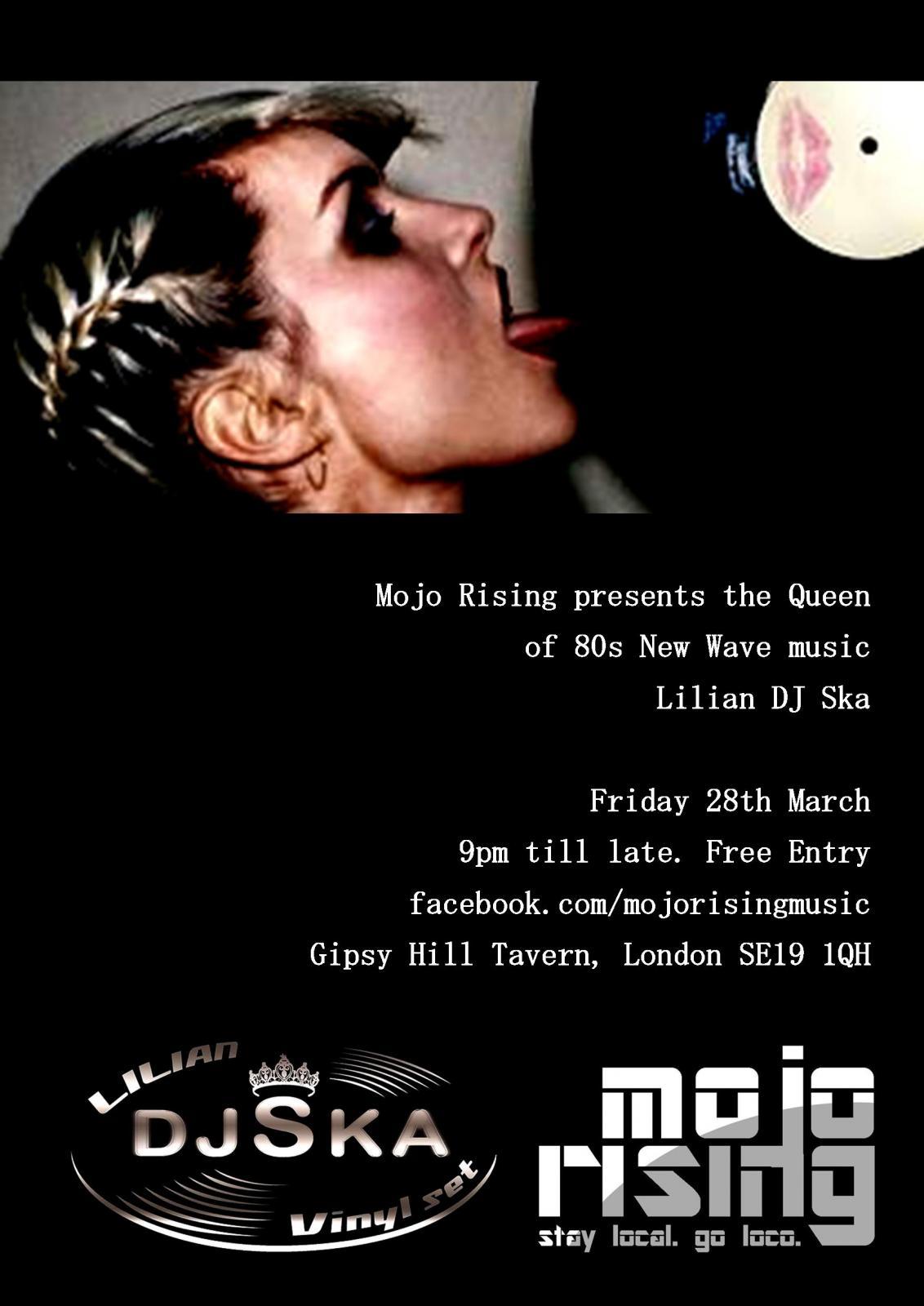 Mojo Rising 80s Night Gipsy Hill Tavern 9pm Virtual