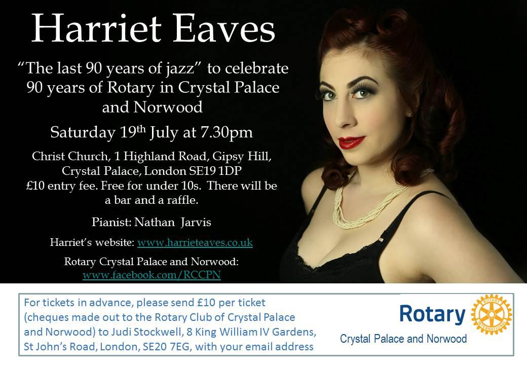 Harriet Eaves poster