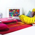 Creating a colourful play area within the home